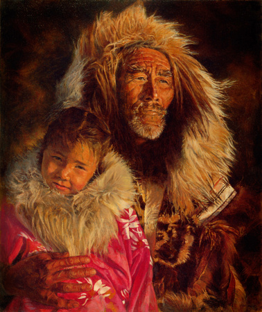 Passages (Inupiat Elder and Child)